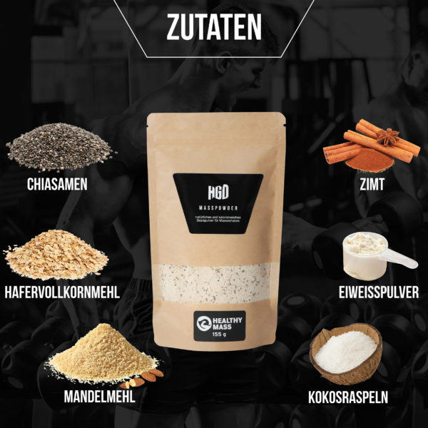 MASS POWDER Zutaten